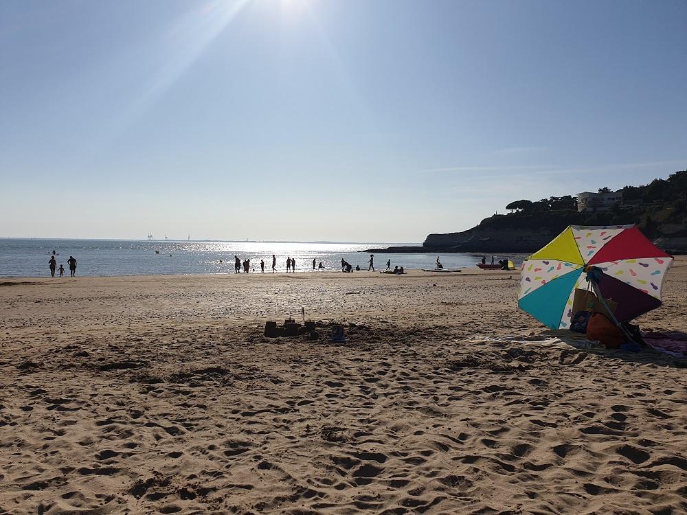La plage des Nonnes à 150 mètres